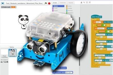 MakeBlock Projeleri 1 – MBot Hareket Ediyor