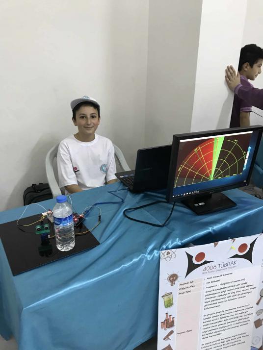 Akıllı Güvenlik Kamerası Tübitak 4006 Bilim Fuarı Projesi