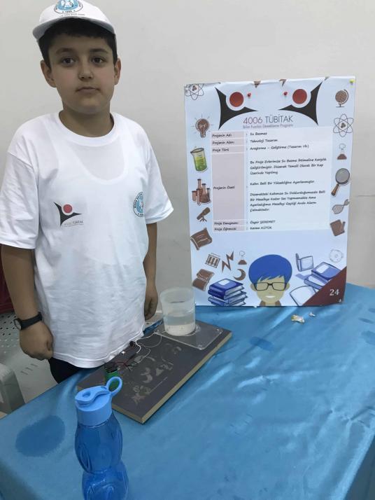 Su Basmaz Tübitak 4006 Bilim Fuarı Projesi