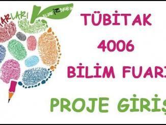Tübitak 4006 Proje Girişi