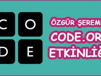 Code.org Etkinliği