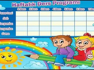 Selçuk Ortaokulu Ders Programı