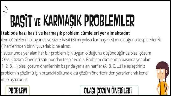 Basit ve Karmaşık Problemler
