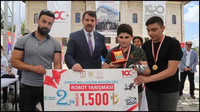 Vücut Hareketleri ile oyun kontrolü Tübitak 4006 Bilim Fuarı Projesi Ödül
