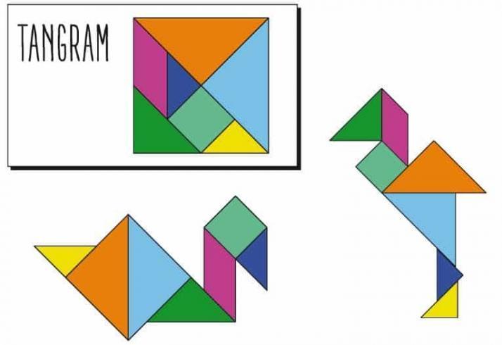 Algoritmik Düşünüyorum Çalışma Kağıdı - Tangram