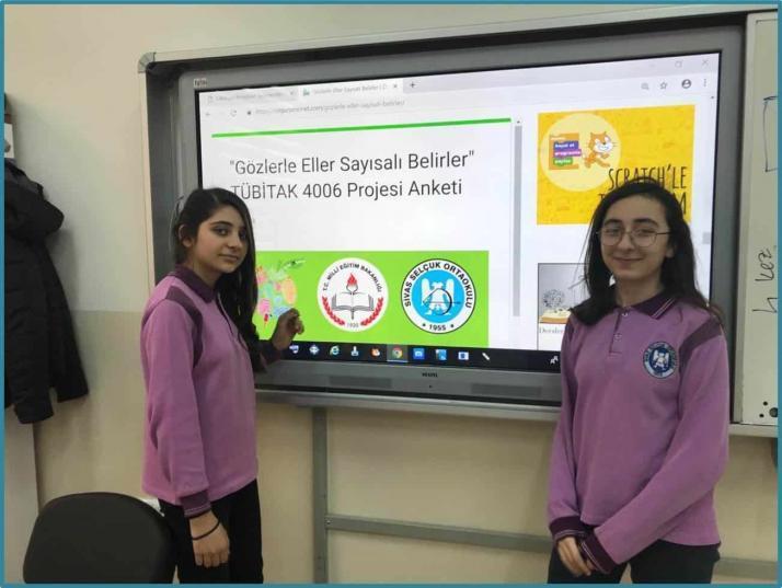 Gözlerle Eller Sayısalı Belirler Tübitak 4006 Bilim Fuarı Projesi