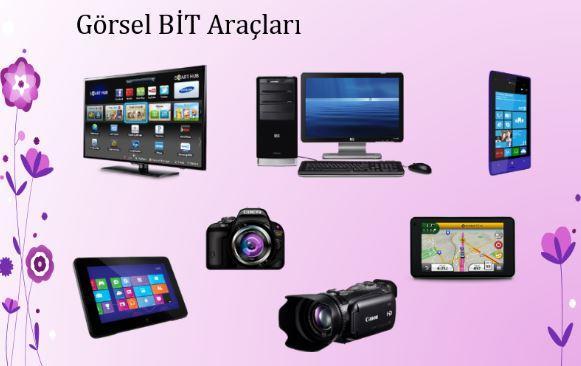 İletişim Araçlarını Tanıyalım Görsel Bit Araçları