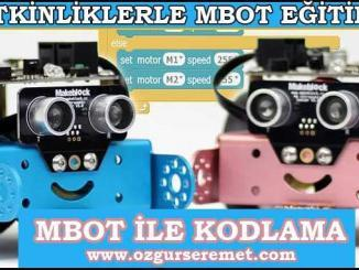 Mbot ile Kodlama Eğitimi