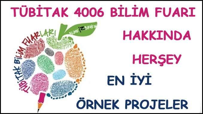 Tübitak 4006 Bilim Fuarı