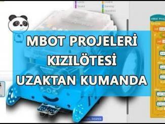 Mbot Projeleri Kızılötesi Uzaktan Kumanda
