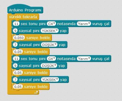 Arduino ile Ambulans Kodları