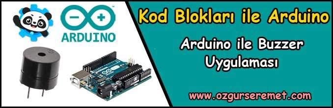 Arduino ile Buzzer Uygulaması