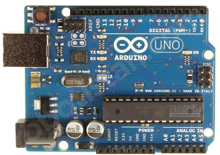 Arduino PWM Pinleri