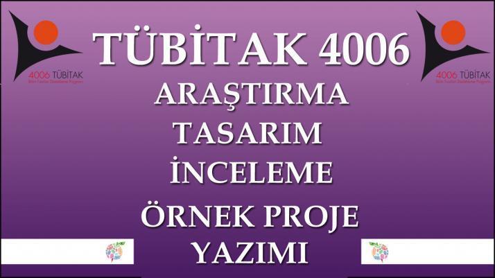 Tübitak 4006 Örnek Proje Yazımı