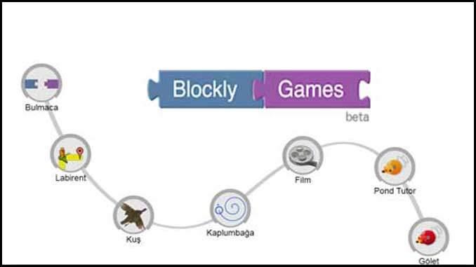 EBA Blockly Uygulamasına Giriş