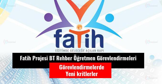 Fatih Projesi Rehberliği Çalışma Planı