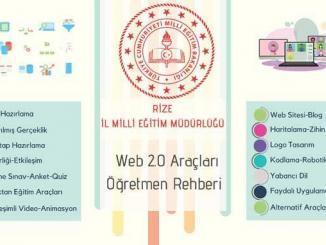 Web 2.0 Araçları Öğretmen Rehberi