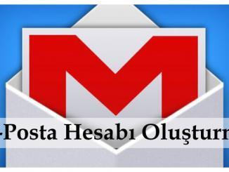 e-posta Hesabı Oluşturma